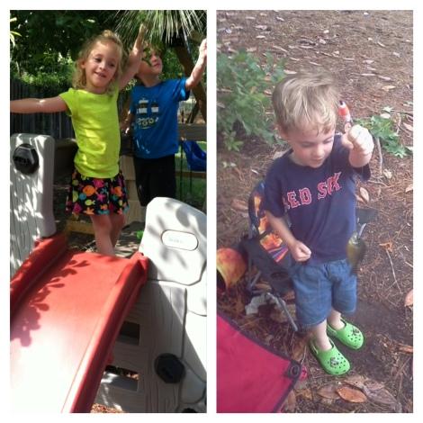 slide and fishin